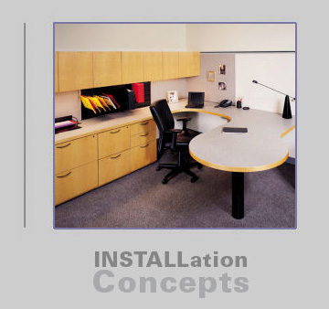 Office Furniture Reconfigurations